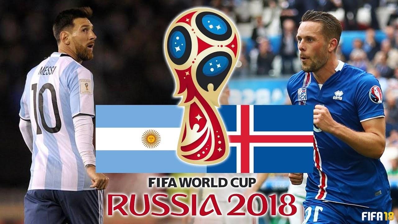 Xem trực tiếp trận Argentina vs Iceland ở kênh nào?