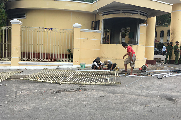 Bình Thuận cấm một số khu vực sau vụ kích động gây rối