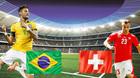 """Kèo """"thơm"""" World Cup hôm nay: Brazil khó thắng đậm Thụy Sỹ"""