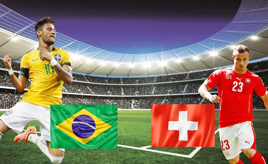 Xem trực tiếp trận Brazil vs Thụy Sỹ ở kênh nào?