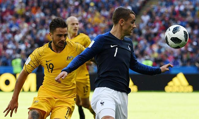 Tuyển Pháp tốn bao nhiêu… tiền để thắng Úc?