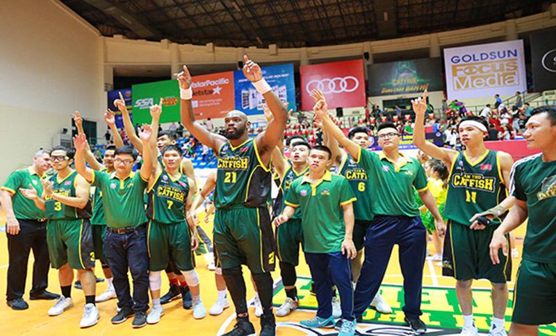 Giải bóng rổ chuyên nghiệp Việt Nam khai màn kịch tính