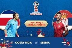 Xem trực tiếp trận Costa Rica vs Serbia ở đâu?