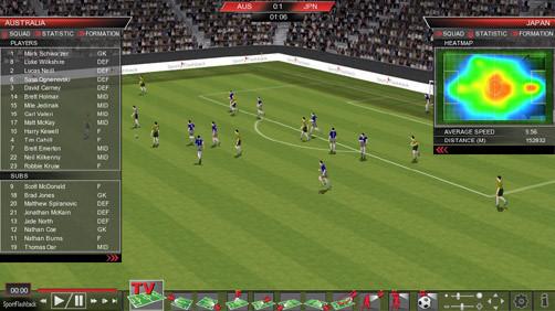 Công nghệ 3D giúp theo dõi chi tiết các trận đấu World Cup 2018