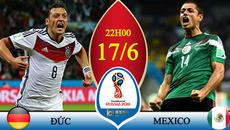 Trực tiếp Đức vs Mexico: Thết đãi tiệc bàn thắng