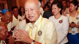 Hoàng thân Campuchia bị tai nạn giao thông