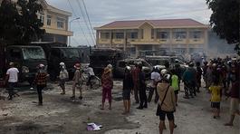 Khởi tố 7 nghi can kích động, gây rối ở Bình Thuận