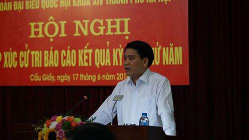 Chủ tịch HN Nguyễn Đức Chung nói về âm mưu của các thế lực thù địch
