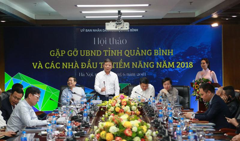 Quảng Bình dành 8.000 ha đất, kêu gọi 50 ngàn tỷ đầu tư