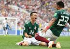 Quật ngã ĐKVĐ Đức, Mexico gây địa chấn