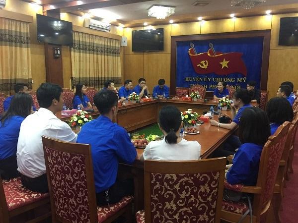 Đoàn Thanh niên Bộ TT&TT giao lưu, chia sẻ công tác Đoàn