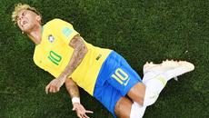 """Thụy Sỹ chơi đòn bẩn, Neymar bị """"chặt chém"""" nhiều nhất World Cup"""