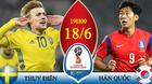 Chuyên gia chọn kèo Thụy Điển vs Hàn Quốc: Loại kèo 0-0