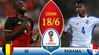 Bỉ 0-0 Panama: Lukaku sát cánh cùng Hazard (hiệp 1)