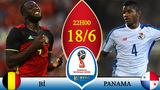 Xem trực tiếp trận Bỉ vs Panama ở đâu?