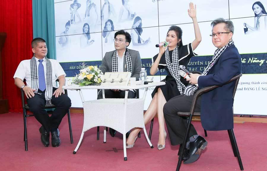 Á hậu Lệ Hằng – Thùy Dung chia sẻ bí quyết thành công