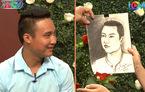 Cô gái vẽ chân dung chàng trai trong mộng khiến MC giật mình