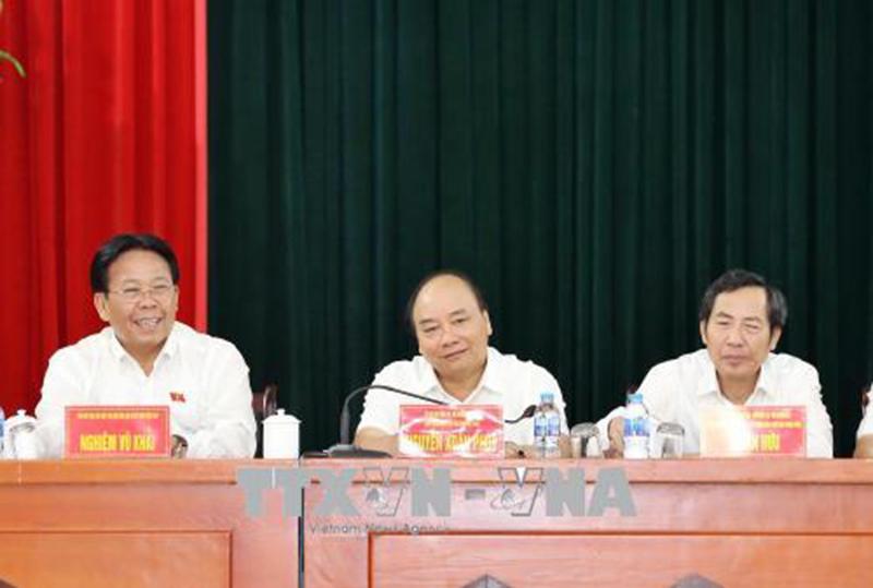 Thủ tướng Nguyễn Xuân Phúc,Nguyễn Xuân Phúc,tiếp xúc cử tri,Hải Phòng