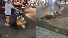 Khởi tố vụ cô gái Thanh Hóa bị lột đồ, tưới nước mắm giữa phố
