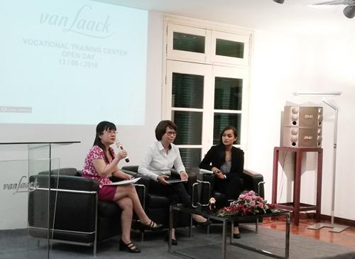 Trung tâm van Laack VTC: Đào tạo song hành tiêu chuẩn Đức