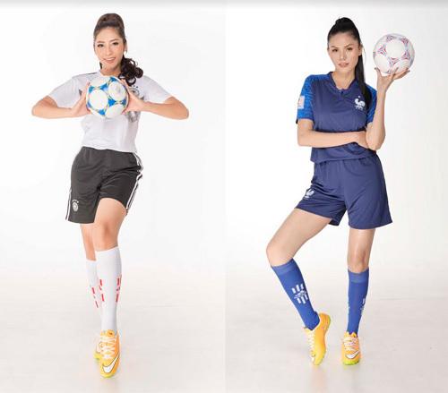 Nam vương, hoa hậu cổ động World Cup 2018 cùng MyVita