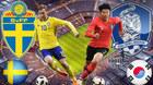 Trực tiếp Thụy Điển vs Hàn Quốc, 19h ngày 18/6