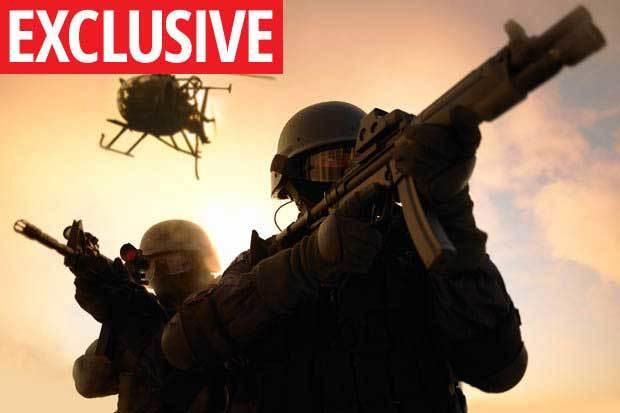 Đặc nhiệm Anh dùng búa diệt phiến quân Taliban