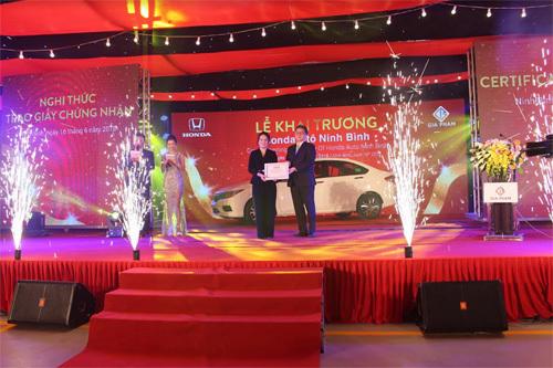 Khai trương Đại lý ôtô Honda chuẩn 5S ở Ninh Bình