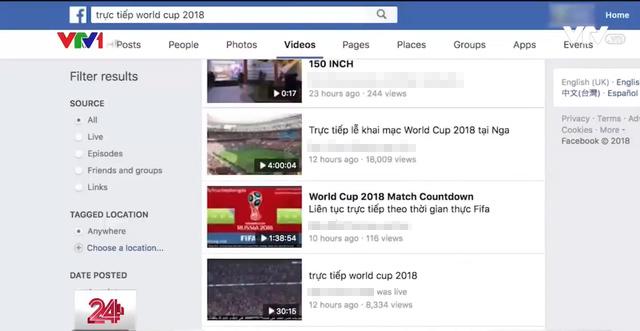 Bộ trưởng TT&TT chỉ đạo xử lý nghiêm vi phạm bản quyền World Cup 2018