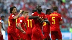 Lukaku lập cú đúp, Bỉ khởi đầu như mơ ở World Cup