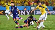 """Kèo """"thơm"""" Colombia vs Nhật Bản: Át vía châu Á"""