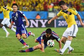 Kèo 'thơm' Colombia vs Nhật Bản: Át vía châu Á
