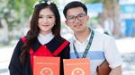 Nữ sinh ĐH Vinh được bạn trai cầu hôn trên sân khấu lễ tốt nghiệp