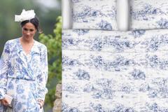 Chiếc váy hàng trăm triệu đồng của Công nương Meghan bị dân mạng đem so sánh với… bộ ga trải giường