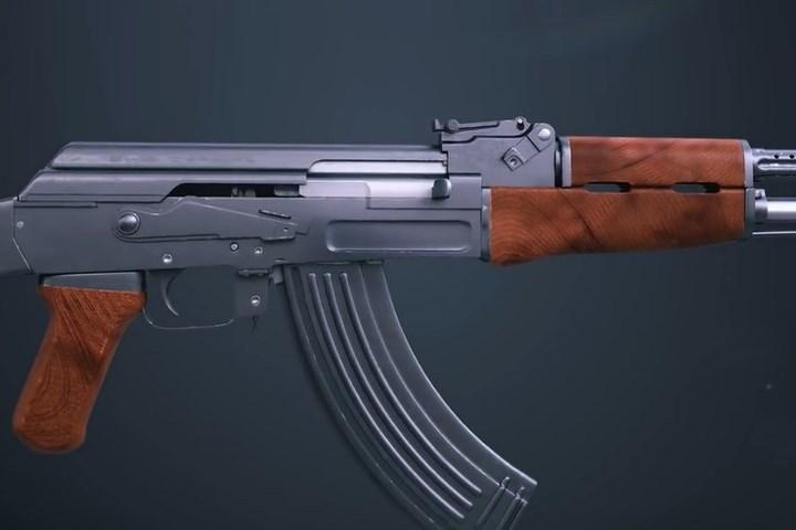 Bộ ảnh 3D lột tả chi tiết súng AK hoạt động