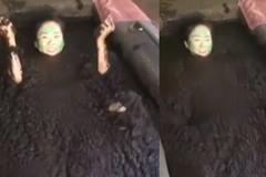 Bạn có bao giờ tắm bùn như thế này không?