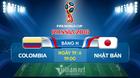 Xem trực tiếp trận Colombia vs Nhật Bản tại đây