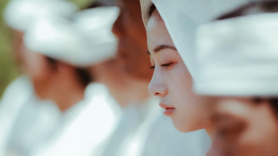 Jun Vũ diễn cảnh tình tứ với Quách Ngọc Ngoan