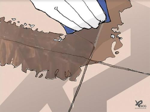 Khắc phục gạch ốp lát bị biến màu và vỡ do ngấm nước