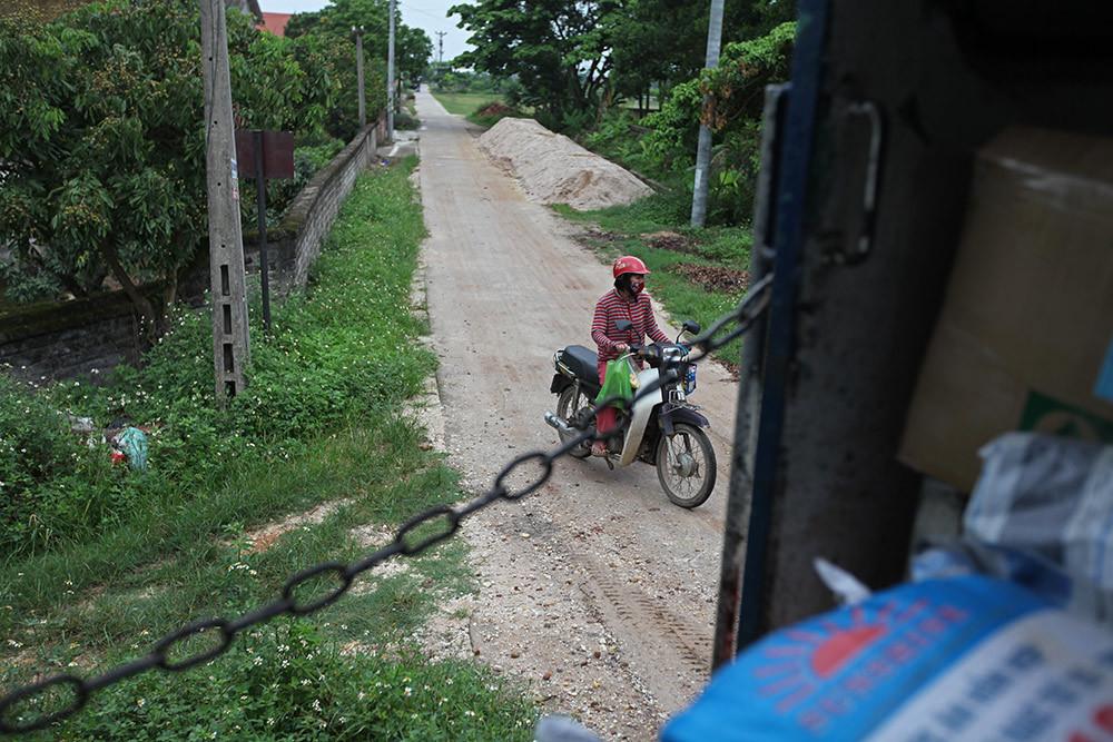Đoàn tàu rời ga ở Hà Nội với 1 hành khách duy nhất