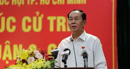 Chủ tịch nước: 'Sẽ báo cáo Quốc hội về Luật biểu tình'