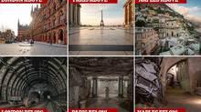 Hé lộ thế giới dưới lòng các thành phố nổi tiếng
