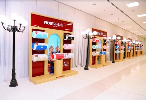 Tân Á Đại Thành ra mắt Bình nước nóng Rossi Arte