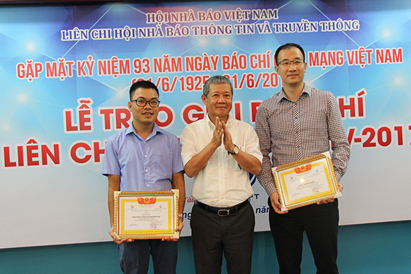 Báo VietNamNet đoạt nhiều giải báo chí của Liên chi hội nhà báo TT&TT