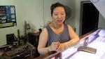 Táo tợn giật phăng túi nhẫn từ tay chủ tiệm vàng ở Hà Nội