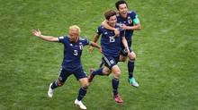 Hạ gục Colombia, Nhật Bản nêu cao tinh thần châu Á