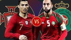 Kèo Bồ Đào Nha vs Maroc: Bàn thắng phút cuối