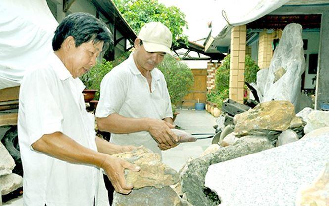 Bộ sưu tập đá tiền tỷ ở Đồng Nai