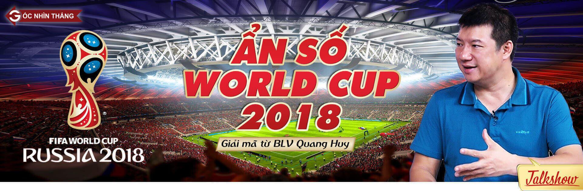 World Cup 2018,Ronaldo,BLV Quang Huy,Đội tuyển Brazil