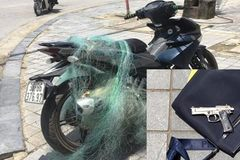 CSGT Thanh Hóa quăng lưới bắt xe vi phạm, phát hiện súng tự chế